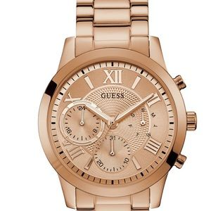 *NWT* GUESS Rose Gold watch